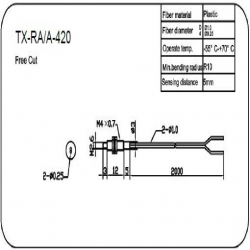 M4高精反射型光纤传感器(TX-RA/A-410)