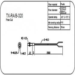 M3同轴反射型光纤传感器(TX-RA/B-310)