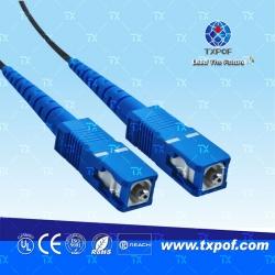 SC塑料光纤跳线(产物编码 TX-SC/SC-B)